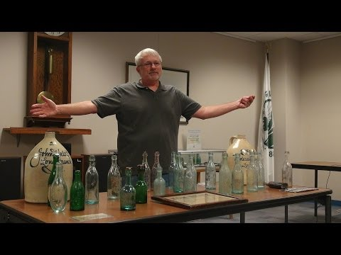 Glenn Vogel, Antique Bottle Collector ~ Long Branch Historical Association