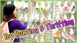 TOY HUNTING & THRIFTING (with Jenny) - My Little Pony, Minecraft, Book of Life and more!