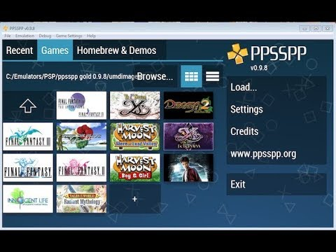 How To Download PPSSPP Emulator/games For PC Or ANDROID (EASY)