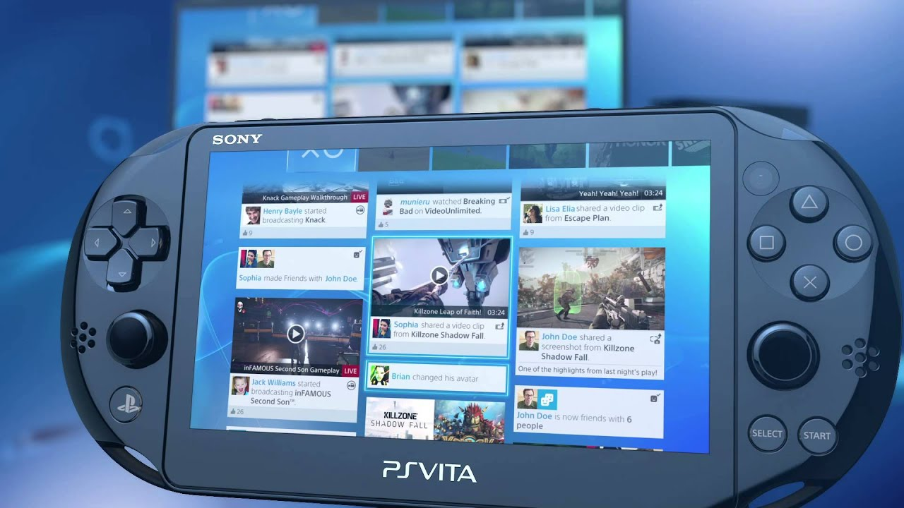 PS4 Remote Play on PS Vita | Inside PS4 | #4theplayers - YouTube