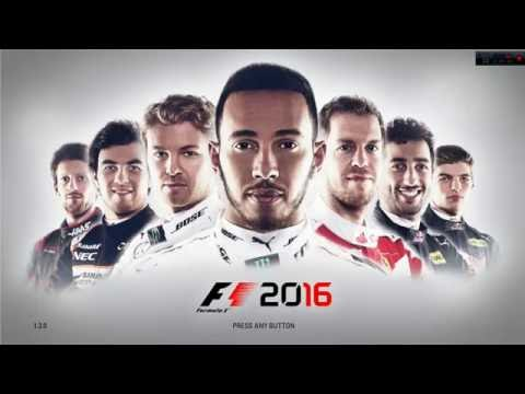 F1 2016 (PC) - Time Trial gameplay test recording  - Try 1