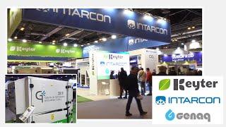Grupo KEYTER INTARCON GENAQ novedades en refrigeración comercial y enfriadoras - Feria C&R 2019