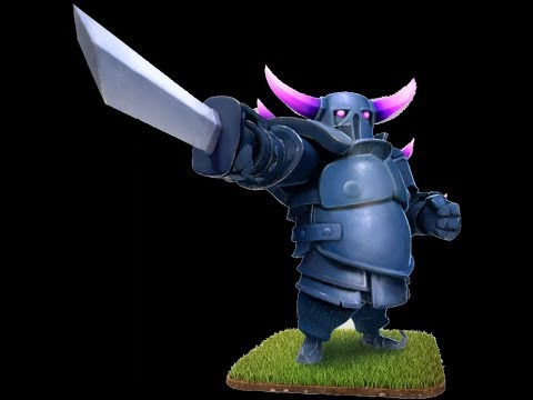 Making Of PEKKA  (Clash Of Clans) Using Cardboards And Papers