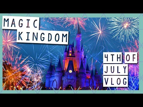 Fourth of July Independence Day Special | Magic Kingdom Vlog July 2017