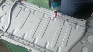 토요타캠리 하이브리드 배터리 교체 영상(굿바이카리싸이클…