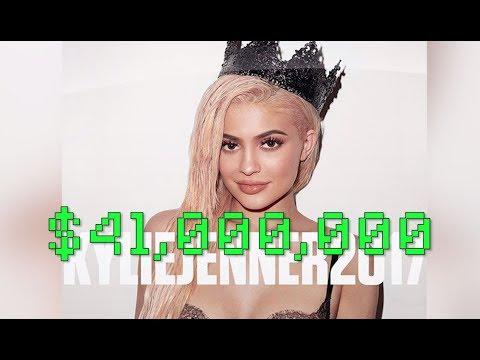 Kylie Jenner La Joven Más Rica en Forbes y Se Tatúa