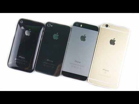 Thumbnail: iPhone 3GS vs iPhone 4S vs iPhone 5S vs iPhone 6S: The History Of iPhone S Line