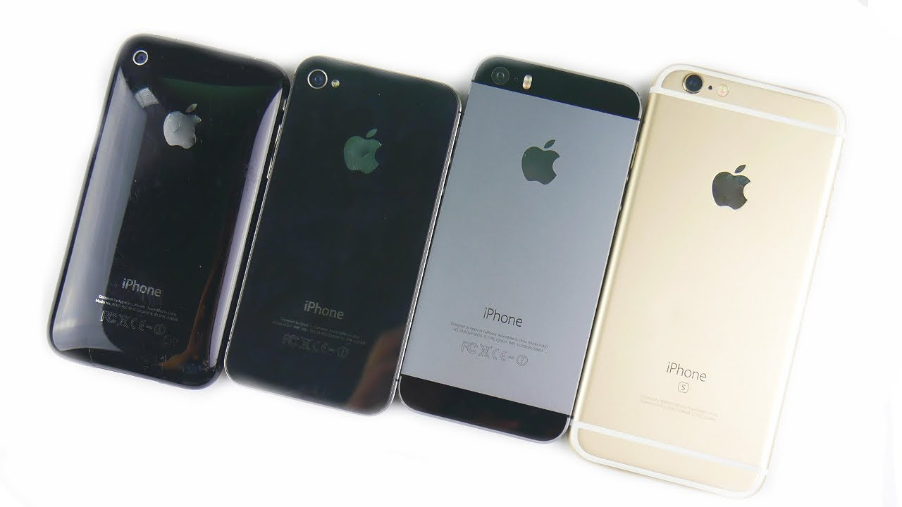 iphone 4s vs iphone 5s iphone 3gs vs iphone 4s vs iphone 5s vs iphone 6s the 17359