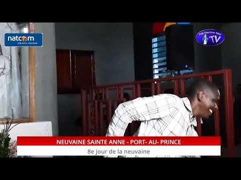 NEUVAINE SAINTE ANNE - PORT-AU-PRINCE