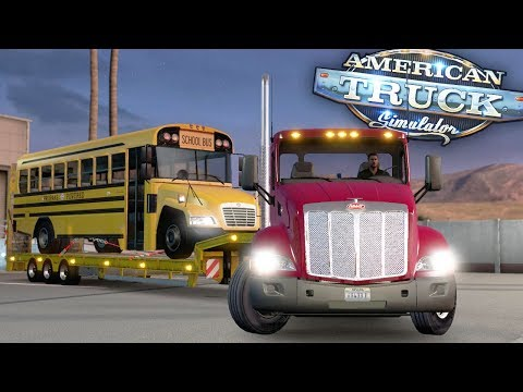 School Bus Load to Texas! - Day 16 - American Truck Simulator Mods