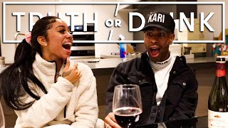 TRUTH OR DRINK | My New Girlfriend ? Bad Stroke Game ? 😳