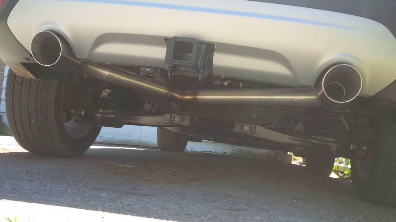 Ford Escape Ecoboost >> 2017 Escape SE 2.0L Ecoboost rear muffler delete. - YouTube