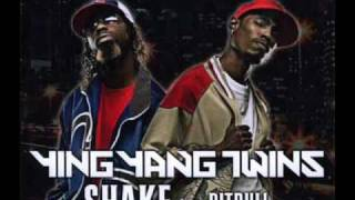 Pitbull Feat. Ying Yang Twins - Shake (Lyrics)