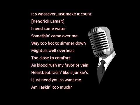 Kendrick Lamar - LUST. (lyrics)