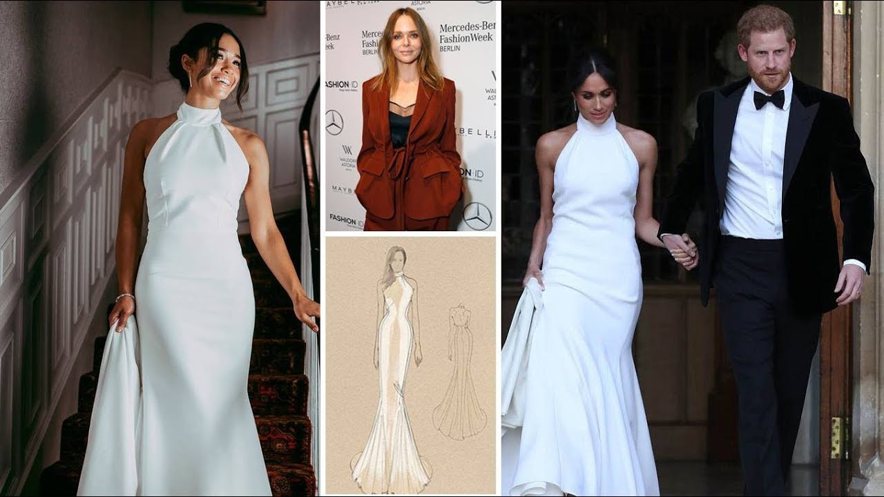 Stella McCartney to sell Meghan\'s wedding reception dress replicas ...