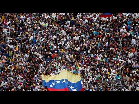 La oposic´ión venezolana se crece en Caracas