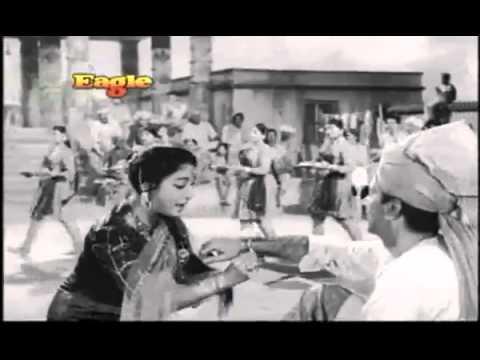 Rang Birangi Rakhi Lekar: By Lata - Anpadh (1962) - Hindi [RakshaBandhan Special] With Lyrics