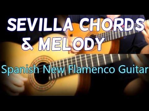 Beautiful Spanish New Flamenco Guitar - Seville by Tomas Michaud - Play Rumba Flamenco
