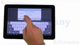 Samsung Galaxy Tab 10.1 - Het instellen van WiFi en Bluetooth