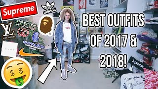 THE BEST FALL/WINTER OUTFITS OF 2017 & 2018! (FIRE)