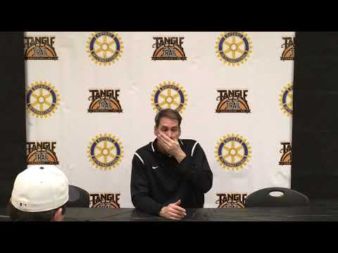 Tangle on the Trail Lafayette Post Game Press Conference 1-6-18 by Magnoliahoops