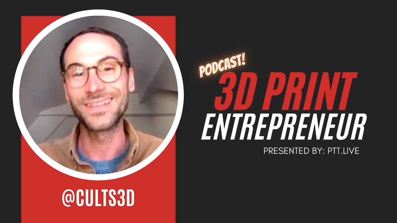 5 Tips that SELL on @Cults3D with Co-Founder Pierre