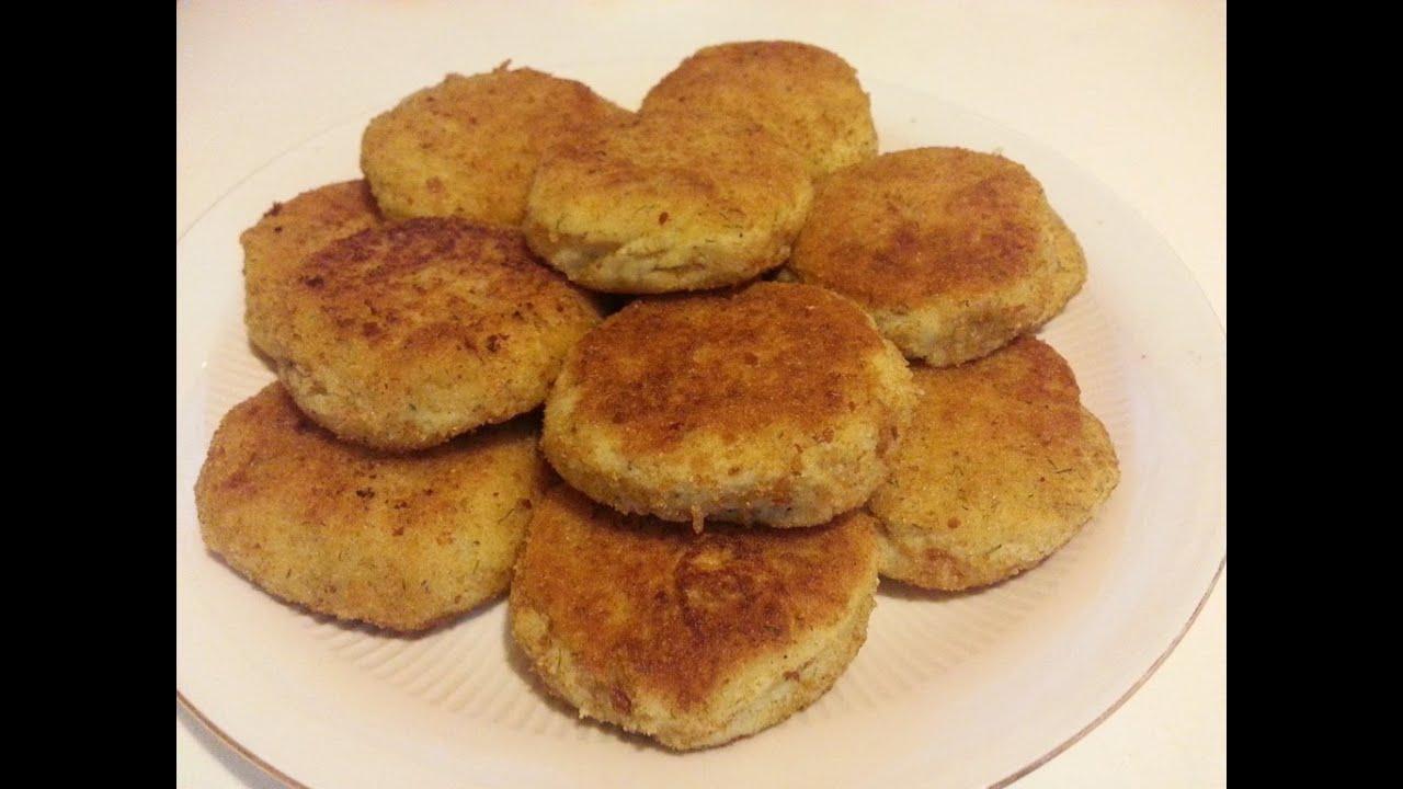 Зразы картофельные,картопляники / Zrazy potato, (patties).
