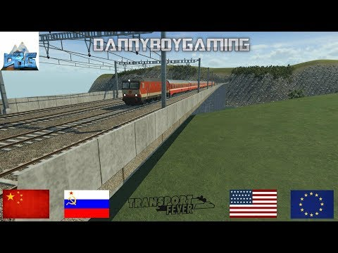 Transport Fever The Mods EP 117 The Europe To Scandinavia Railway