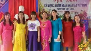 20/11 - Gửi  tặng  các  thầy  cô  trường  THCS Bắc  Sơn
