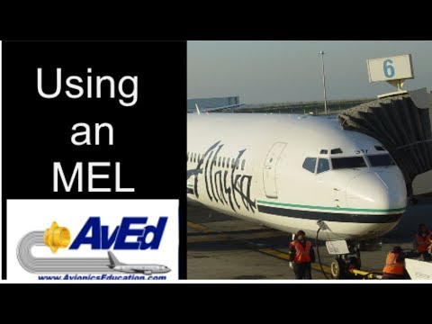 Avionics Education Live Stream- Using An Minimum Equipment List