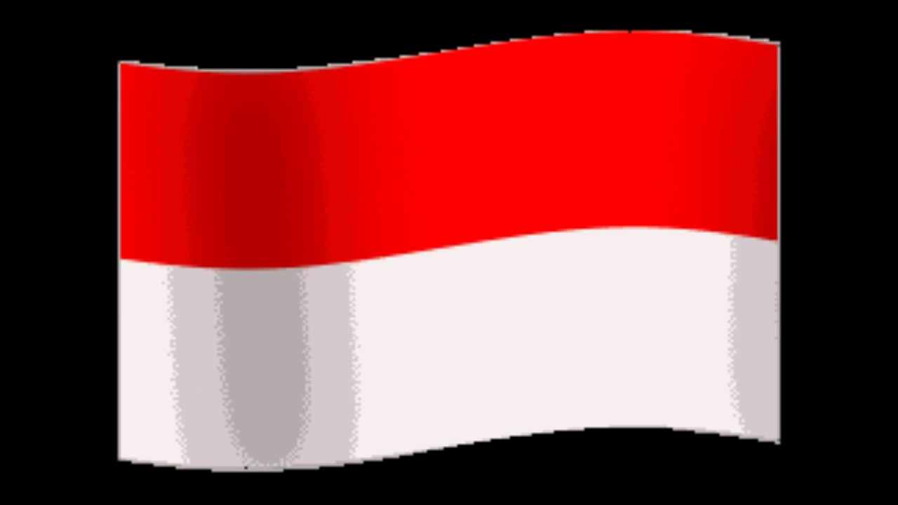 Animasi Bendera Merah Putih Berkibar Hd Youtube