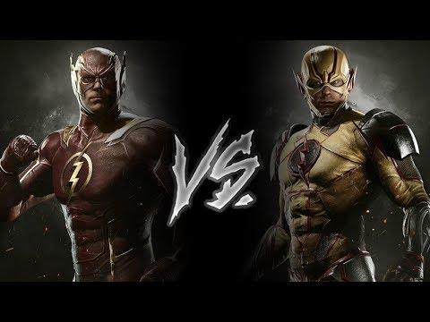 Injustice 2 - The Flash Vs. Reverse Flash (VERY HARD)