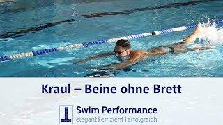 Schwimmtechnik verbessern (swim faster): Kraul Beinschlag ohne Brett - Dominik Franke
