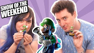 Show of the Weekend: Luigi's Mansion 3 and Ellen's Un-boo-lievable Quiz