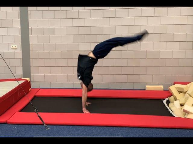 Vloer; Flikflak trampoline