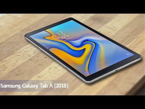 Samsung Galaxy Tab A (2018) With 10.5-inch Wuxga Display | 7300mAh battery