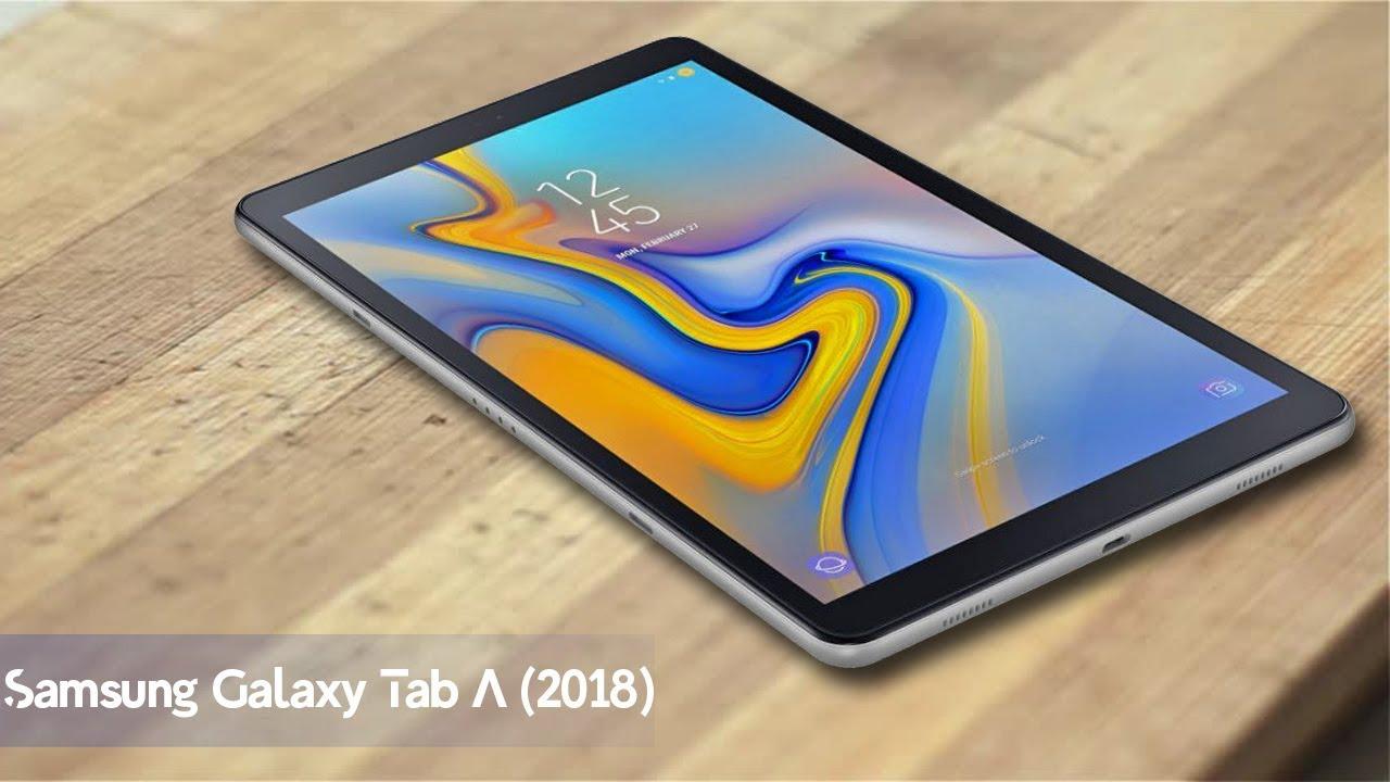 samsung galaxy tab a 2018 with 10 5 inch wuxga display. Black Bedroom Furniture Sets. Home Design Ideas