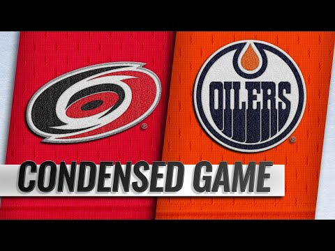 01/20/19 Condensed Game: Hurricanes @ Oilers