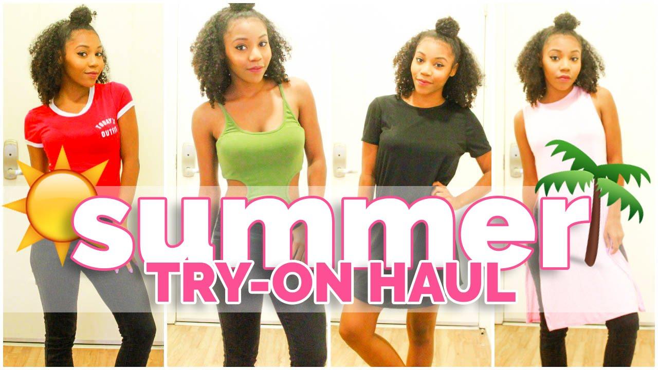 3e4ee838e52408 Summer Try-On Haul - Fashion Nova