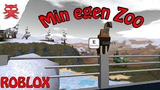 Min egen Zoo - Zoo Tycoon - Dansk Roblox