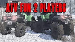Spintires Mud Runners Mp Atv Off Roading! Steering Fixed