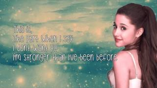 Break Free-Ariana Grande ft. Zedd (Lyrics)