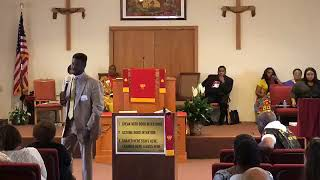 """Acts 4:32-34, 5:1-11 """"Don't Hold Anything Back"""" - Rev Everett Mitchell"""