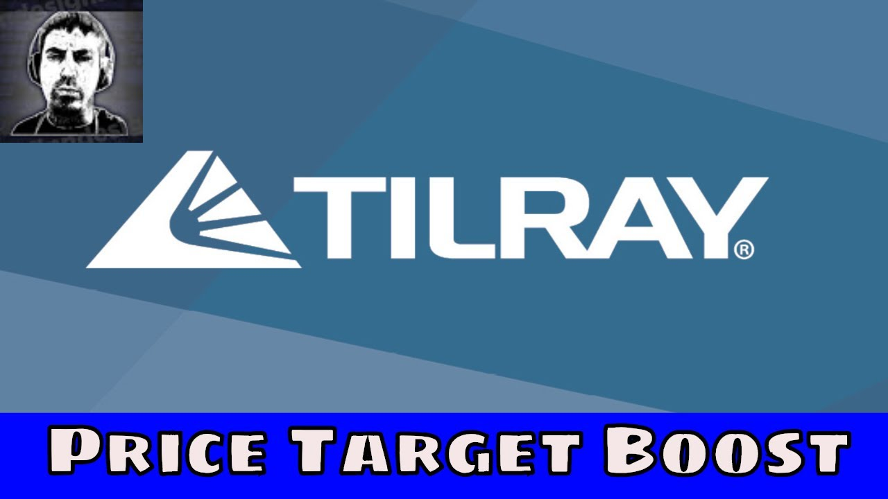 Tlry Tilray Stock Update Price Target Boost Youtube