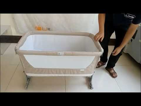 ALA mini panda baby crib Assemble  video