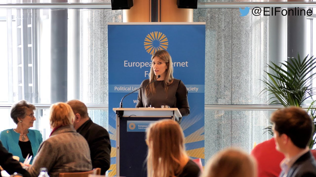 Eva Kaili MEP and EIF Steering Committee Member on Fake News & Hate Speech