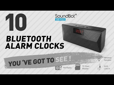 Bluetooth Alarm Clocks // New & Popular 2017