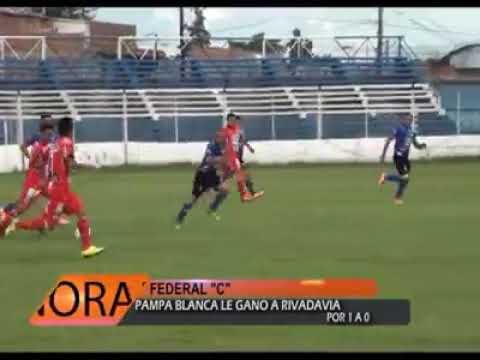 Pampa blanca 1 vs 0 rivadavia federal 2018