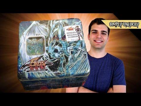Best Yugioh 5Ds 2008 Stardust Dragon Tin Opening! ..Darkness..