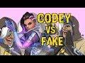 Codey VS Fake   ez queue snipes